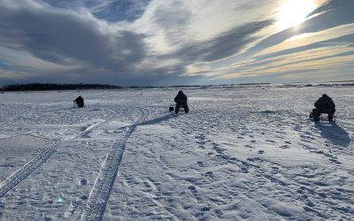 Devils Lake Ice Fishing Report-March 3rd, 2021