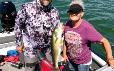 Lake Sakakawea and Devils Lake Fishing Report-July 4th, 2021